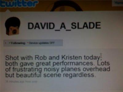 David Slade twitter